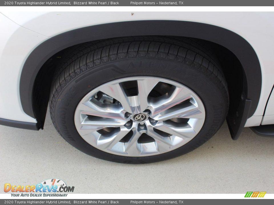 2020 Toyota Highlander Hybrid Limited Blizzard White Pearl / Black Photo #5