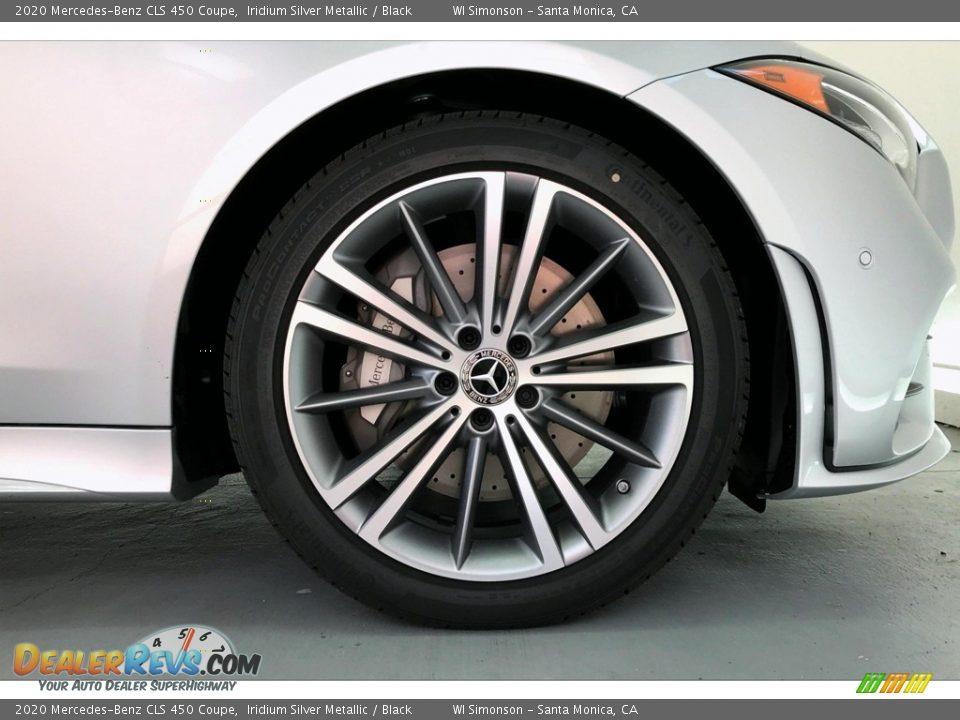 2020 Mercedes-Benz CLS 450 Coupe Iridium Silver Metallic / Black Photo #9