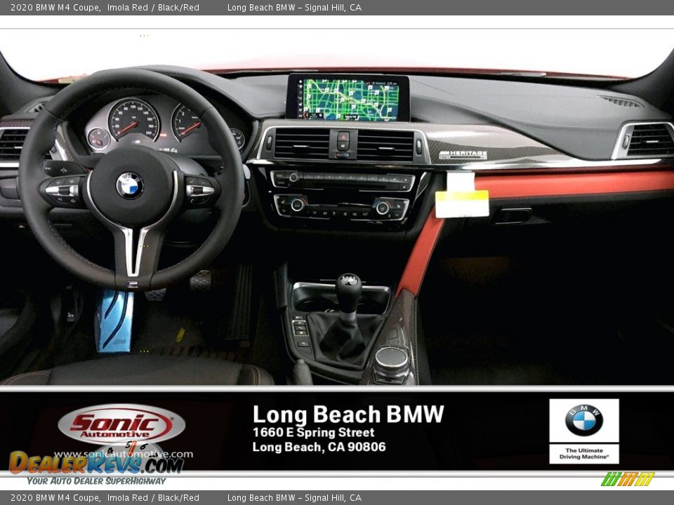 2020 BMW M4 Coupe Imola Red / Black/Red Photo #5
