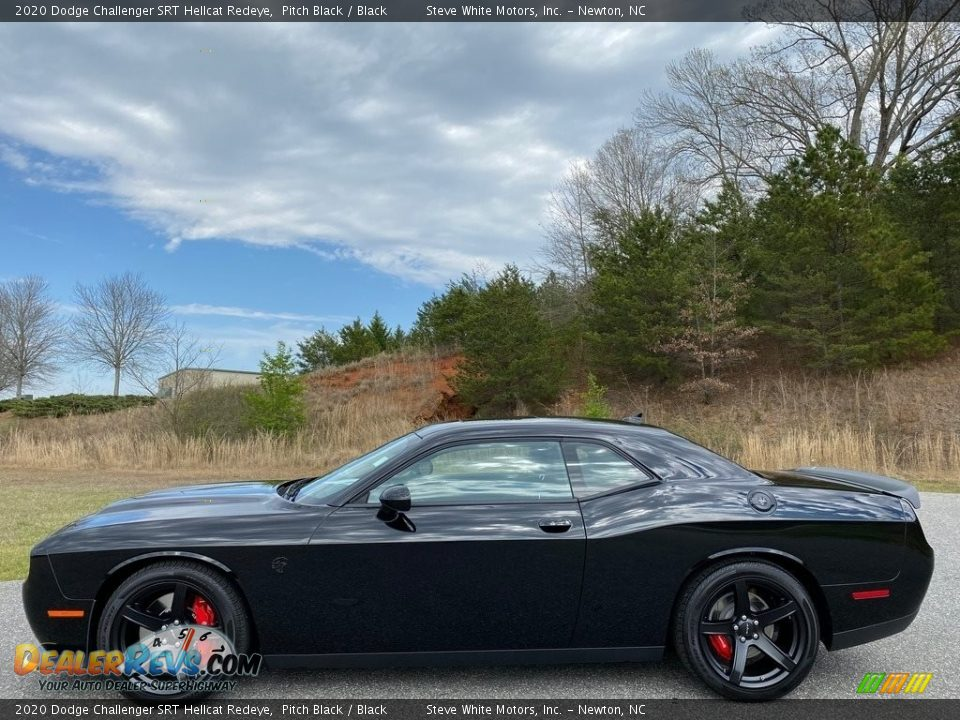 Pitch Black 2020 Dodge Challenger SRT Hellcat Redeye Photo #1