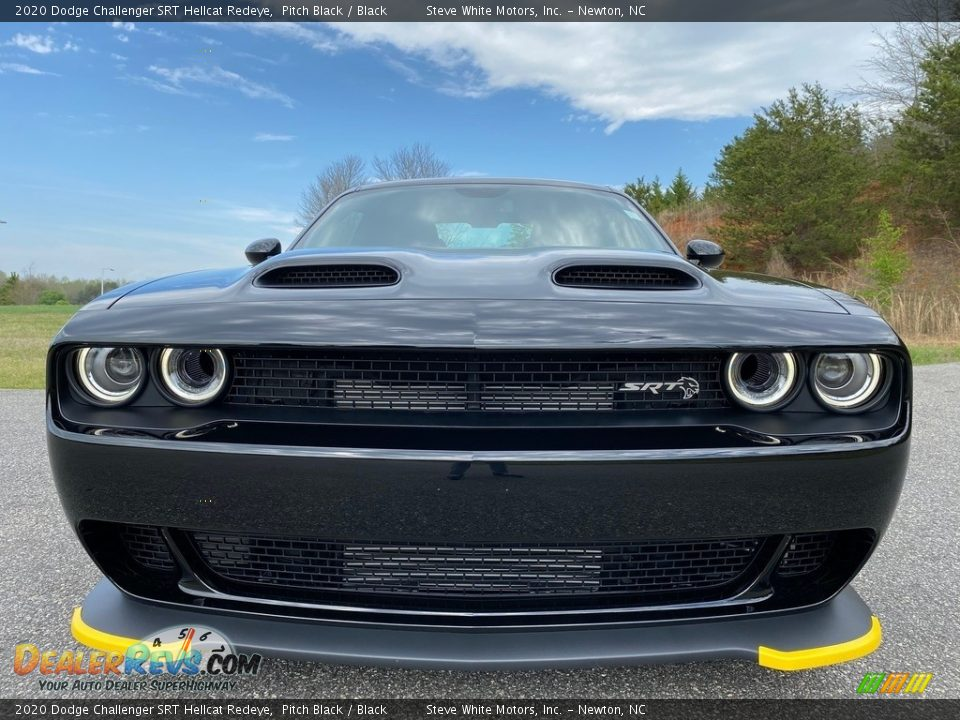 2020 Dodge Challenger SRT Hellcat Redeye Pitch Black / Black Photo #3