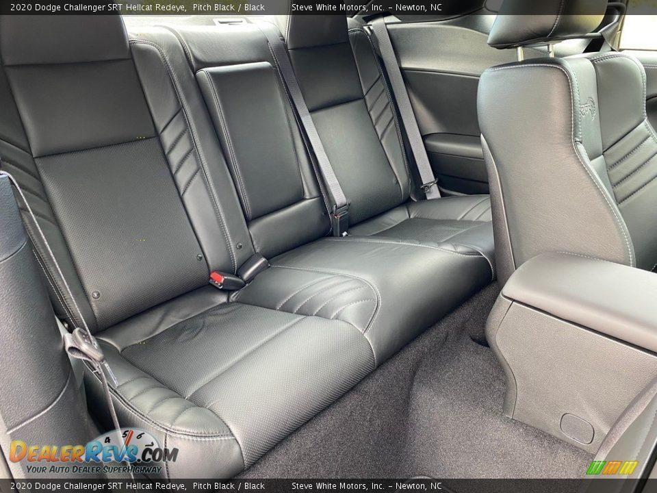 Rear Seat of 2020 Dodge Challenger SRT Hellcat Redeye Photo #17