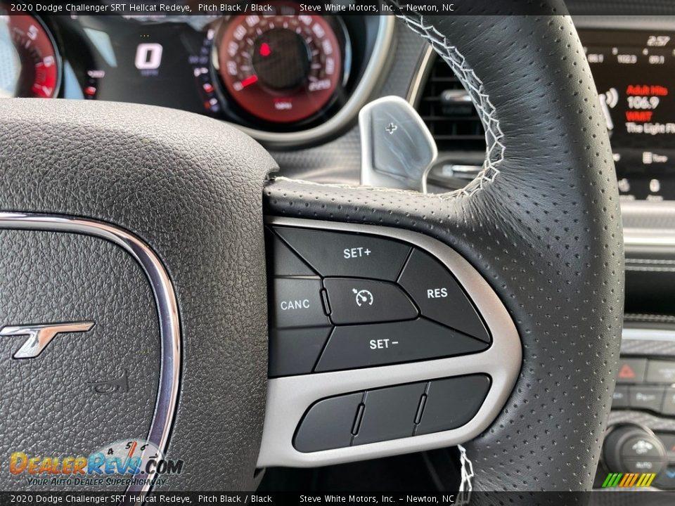 2020 Dodge Challenger SRT Hellcat Redeye Steering Wheel Photo #21