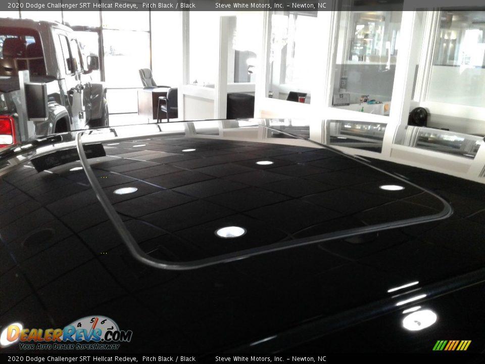 2020 Dodge Challenger SRT Hellcat Redeye Pitch Black / Black Photo #31