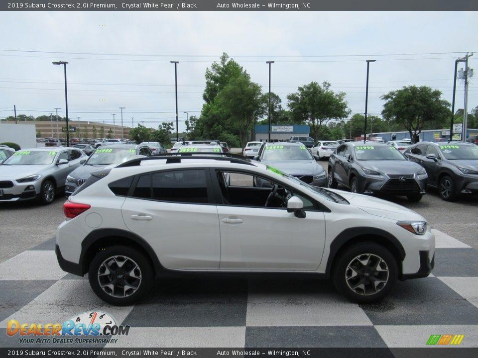 2019 Subaru Crosstrek 2.0i Premium Crystal White Pearl / Black Photo #3