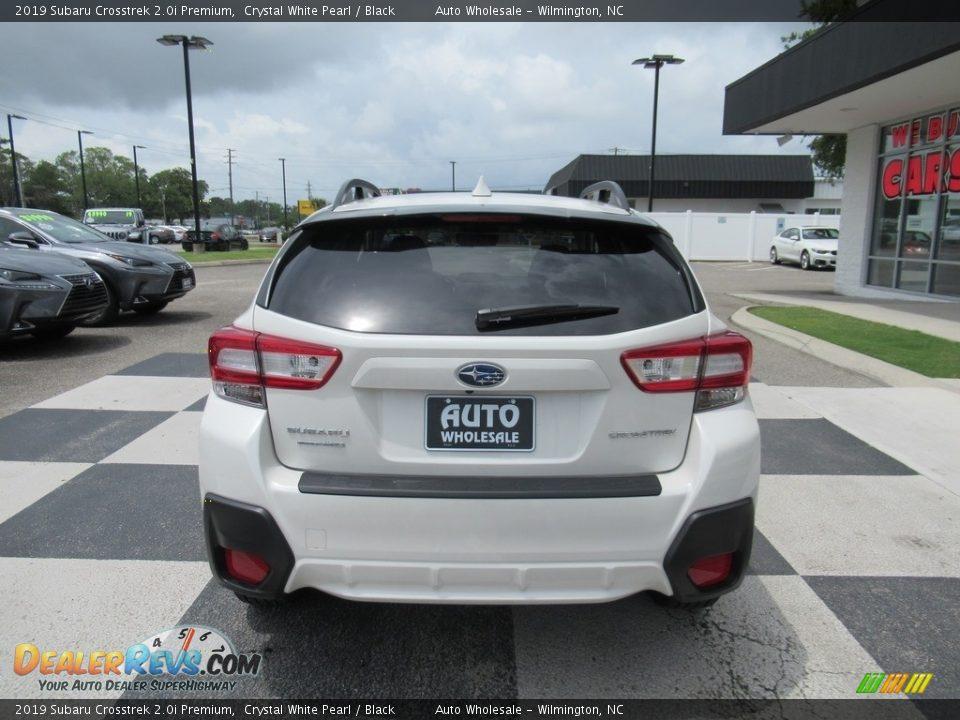 2019 Subaru Crosstrek 2.0i Premium Crystal White Pearl / Black Photo #4