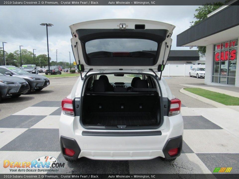 2019 Subaru Crosstrek 2.0i Premium Crystal White Pearl / Black Photo #5
