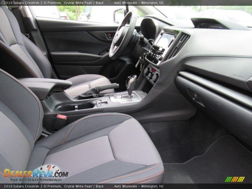 2019 Subaru Crosstrek 2.0i Premium Crystal White Pearl / Black Photo #12