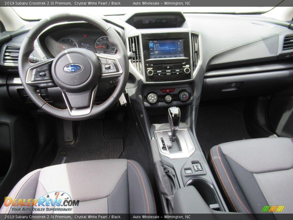 2019 Subaru Crosstrek 2.0i Premium Crystal White Pearl / Black Photo #15