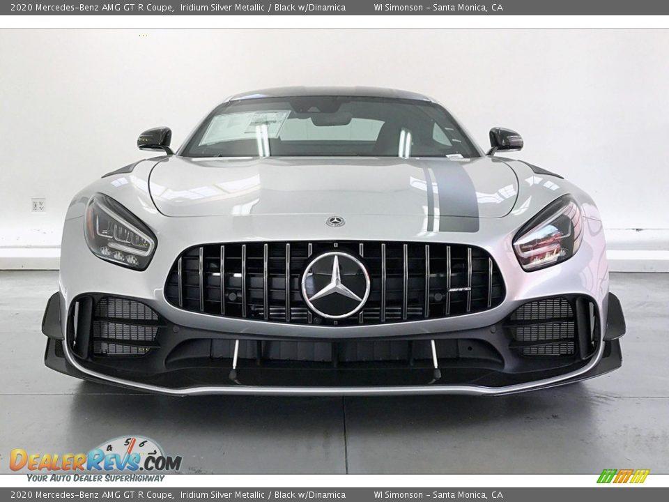 2020 Mercedes-Benz AMG GT R Coupe Iridium Silver Metallic / Black w/Dinamica Photo #2