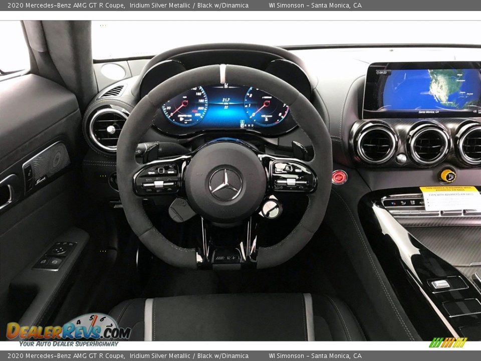 2020 Mercedes-Benz AMG GT R Coupe Iridium Silver Metallic / Black w/Dinamica Photo #4