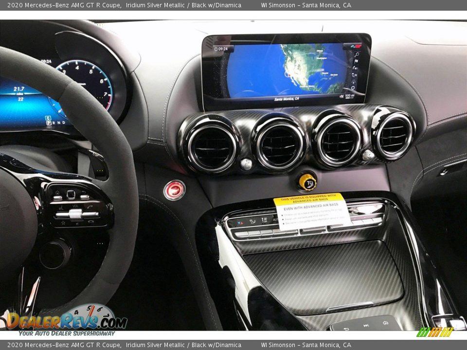 2020 Mercedes-Benz AMG GT R Coupe Iridium Silver Metallic / Black w/Dinamica Photo #5
