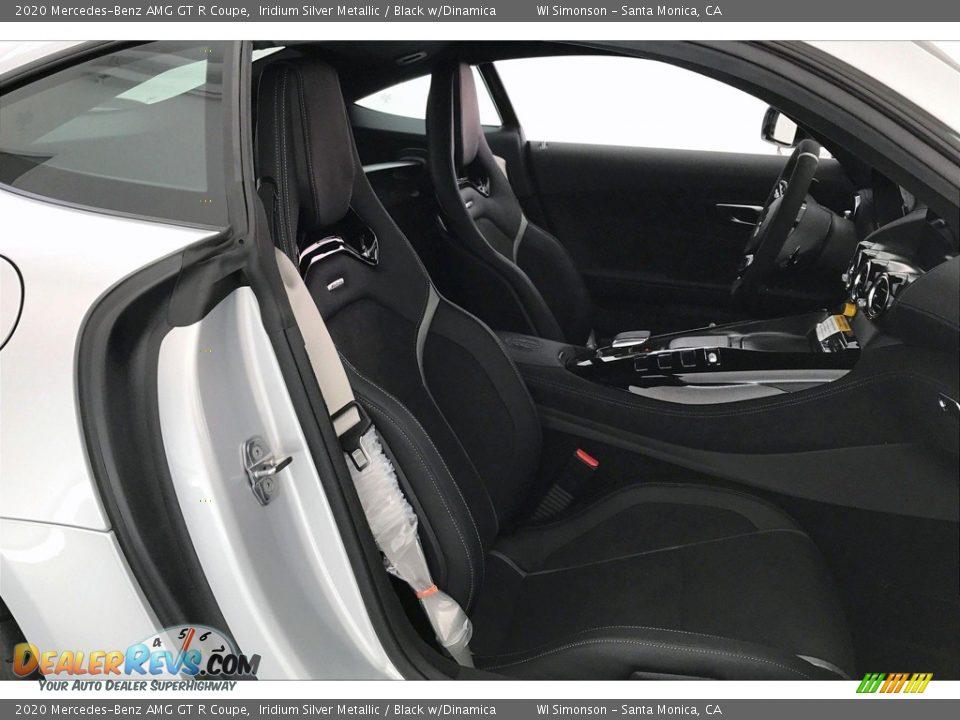 2020 Mercedes-Benz AMG GT R Coupe Iridium Silver Metallic / Black w/Dinamica Photo #6