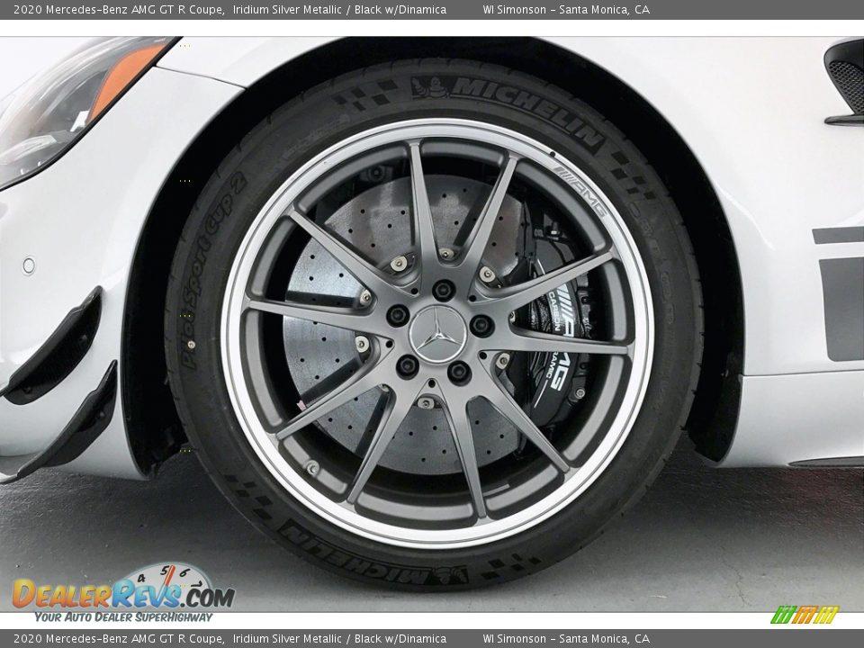 2020 Mercedes-Benz AMG GT R Coupe Iridium Silver Metallic / Black w/Dinamica Photo #8