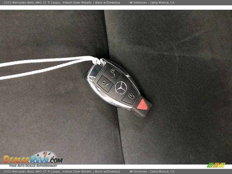 2020 Mercedes-Benz AMG GT R Coupe Iridium Silver Metallic / Black w/Dinamica Photo #11