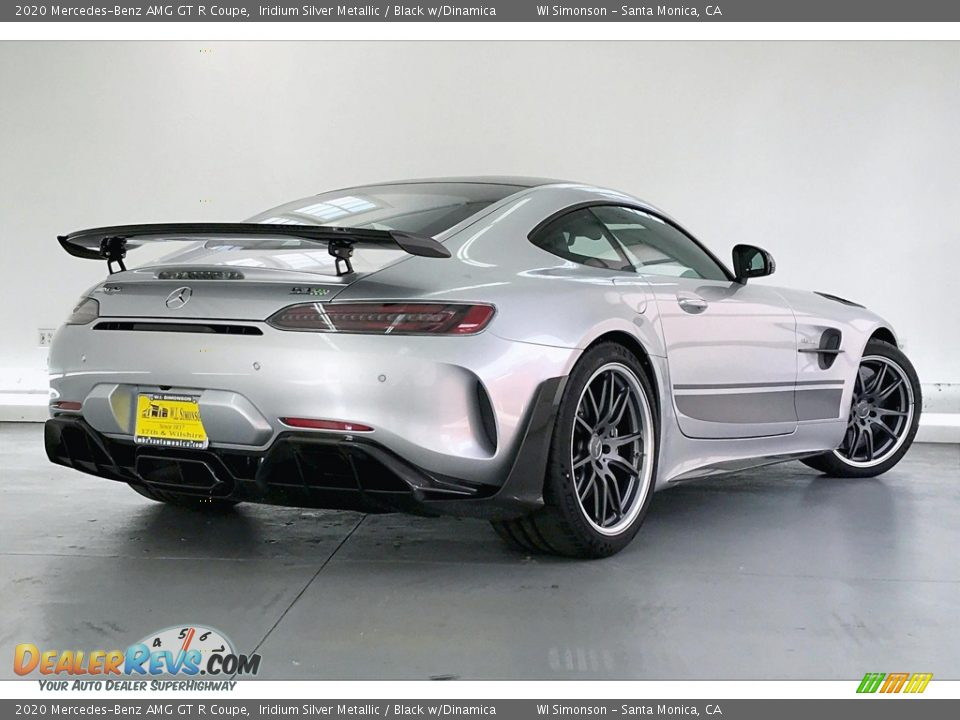 2020 Mercedes-Benz AMG GT R Coupe Iridium Silver Metallic / Black w/Dinamica Photo #14
