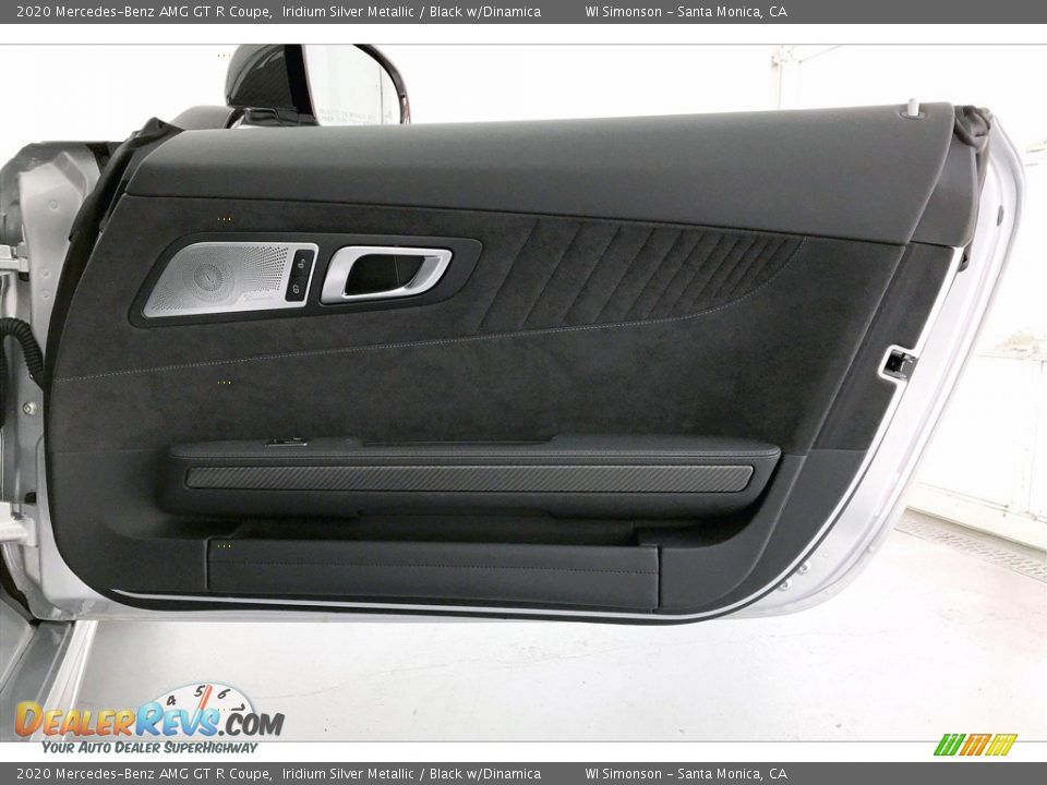 2020 Mercedes-Benz AMG GT R Coupe Iridium Silver Metallic / Black w/Dinamica Photo #27