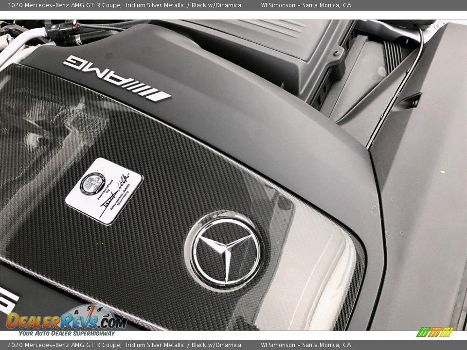 2020 Mercedes-Benz AMG GT R Coupe Iridium Silver Metallic / Black w/Dinamica Photo #28