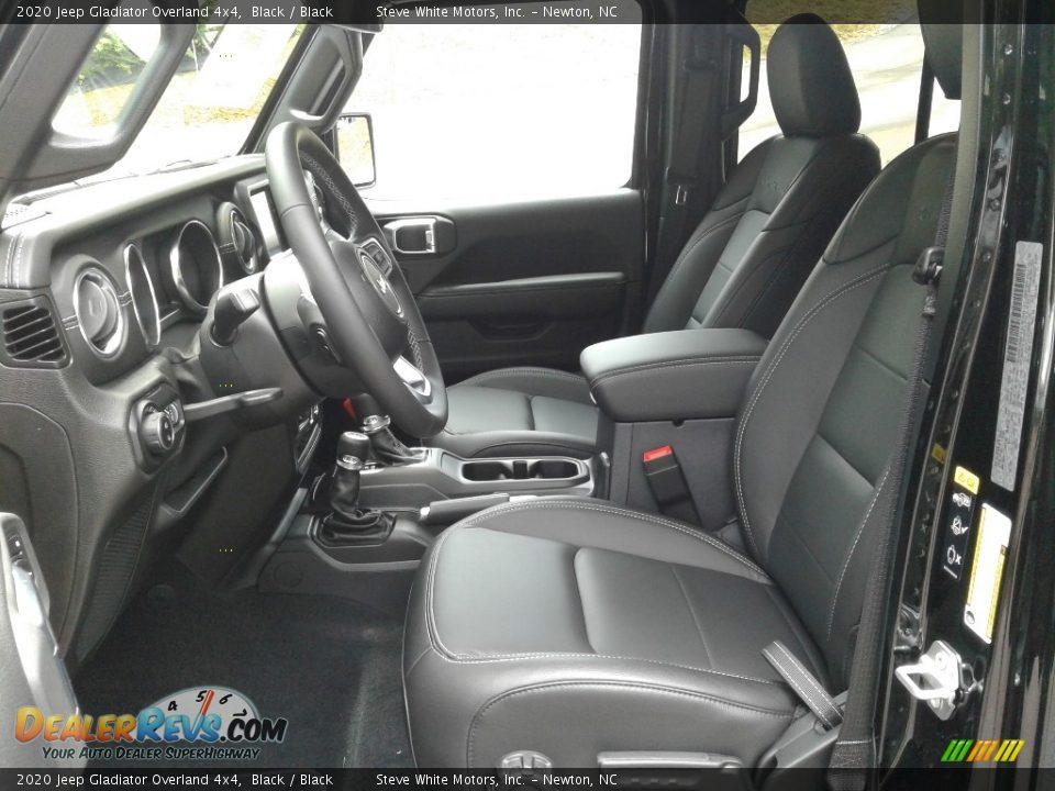 2020 Jeep Gladiator Overland 4x4 Black / Black Photo #11