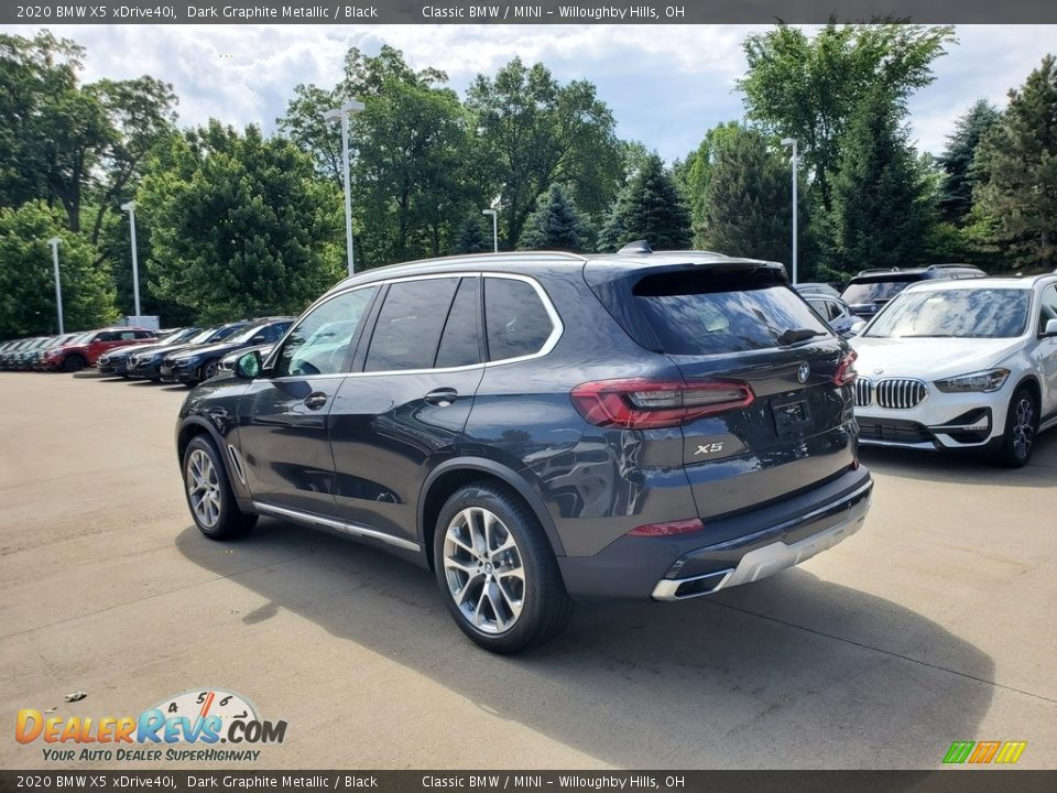 2020 BMW X5 xDrive40i Dark Graphite Metallic / Black Photo #2