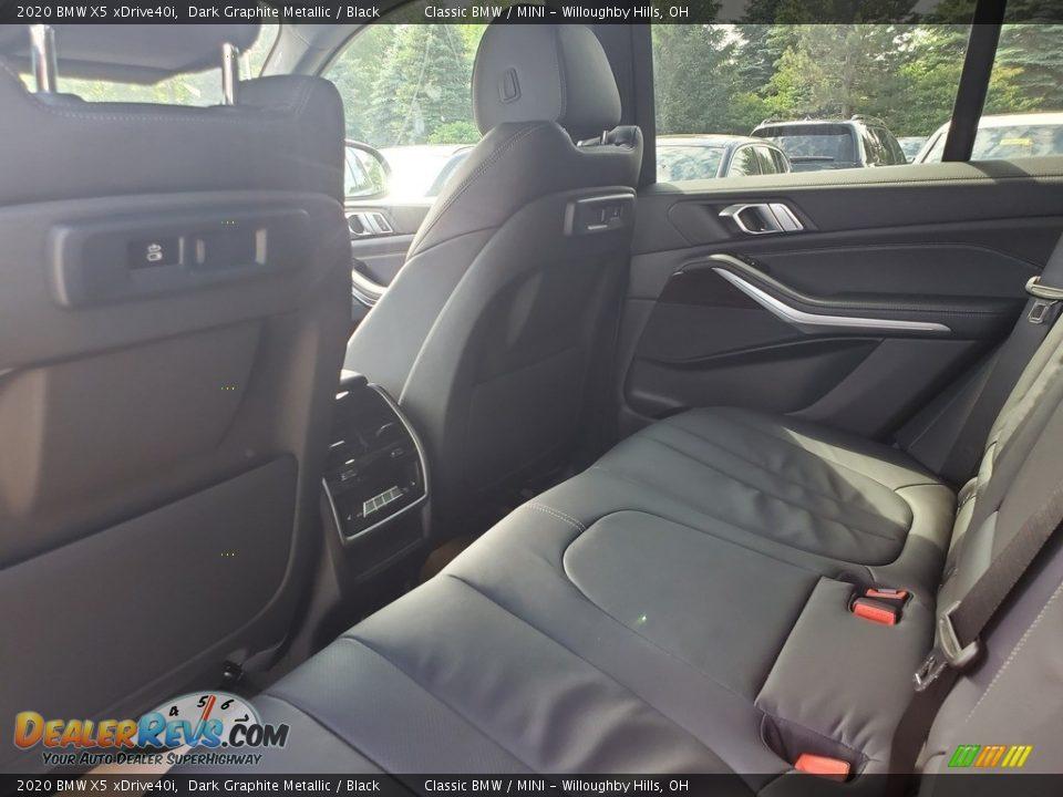 2020 BMW X5 xDrive40i Dark Graphite Metallic / Black Photo #4