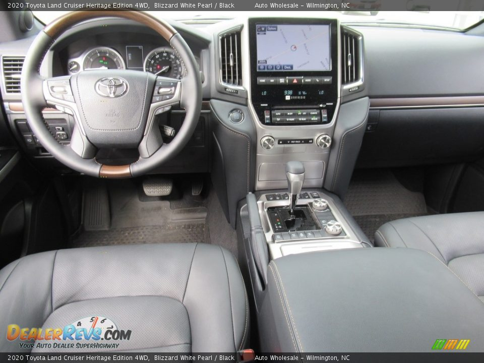 2020 Toyota Land Cruiser Heritage Edition 4WD Blizzard White Pearl / Black Photo #14