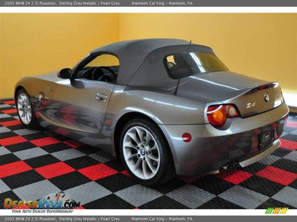 2003 Bmw Z4 2 5i Roadster Sterling Grey Metallic Pearl