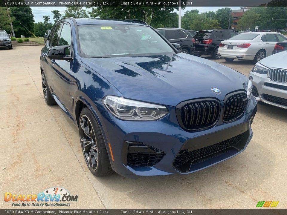 Phytonic Blue Metallic 2020 BMW X3 M Competition Photo #1