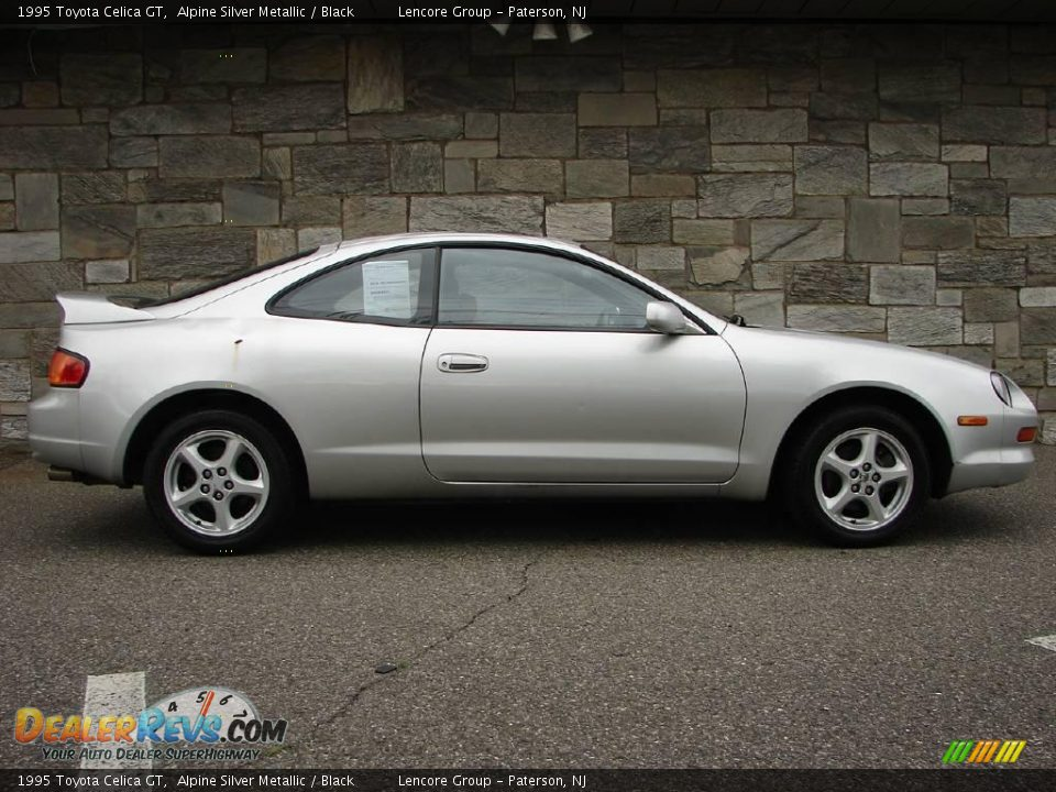 1995 toyota celica gt alpine silver metallic black photo. Black Bedroom Furniture Sets. Home Design Ideas
