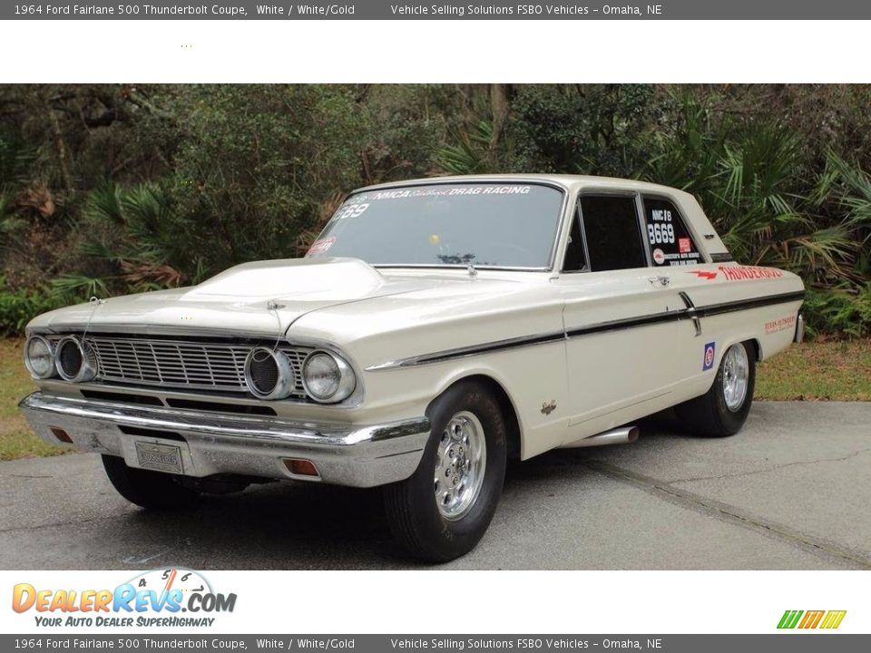 Front 3/4 View of 1964 Ford Fairlane 500 Thunderbolt Coupe Photo #1