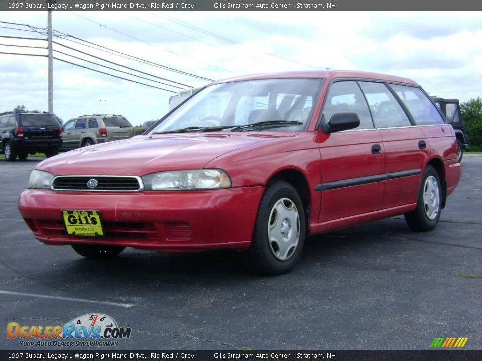 1997 subaru legacy l wagon right hand drive rio red grey. Black Bedroom Furniture Sets. Home Design Ideas