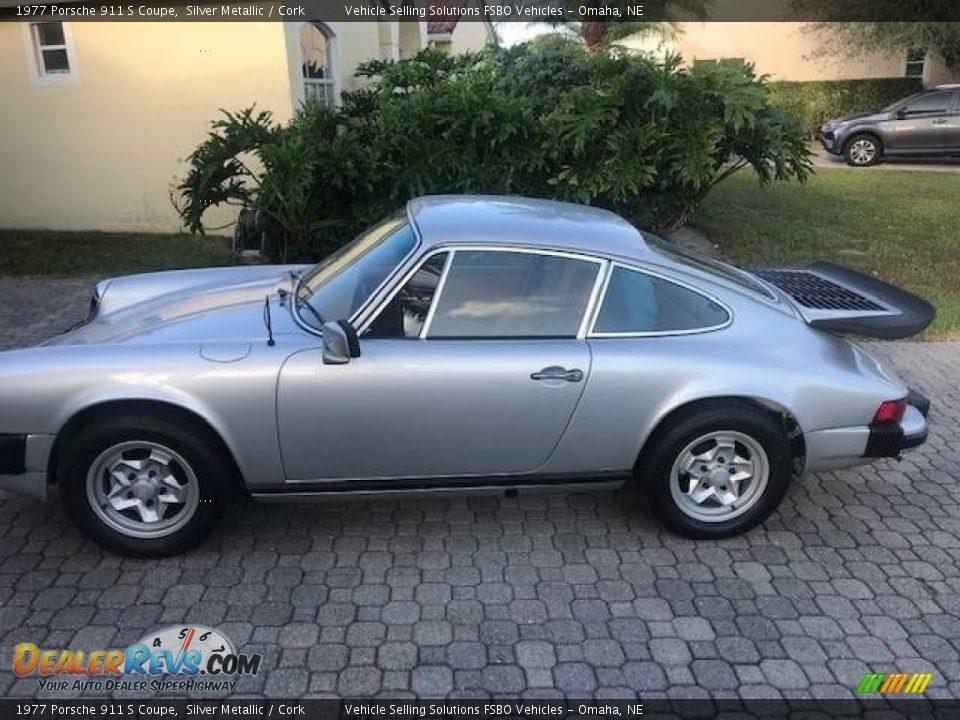 Silver Metallic 1977 Porsche 911 S Coupe Photo #1