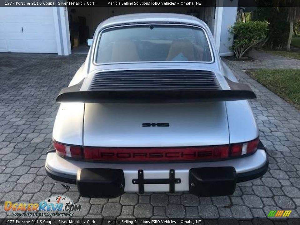 Silver Metallic 1977 Porsche 911 S Coupe Photo #7