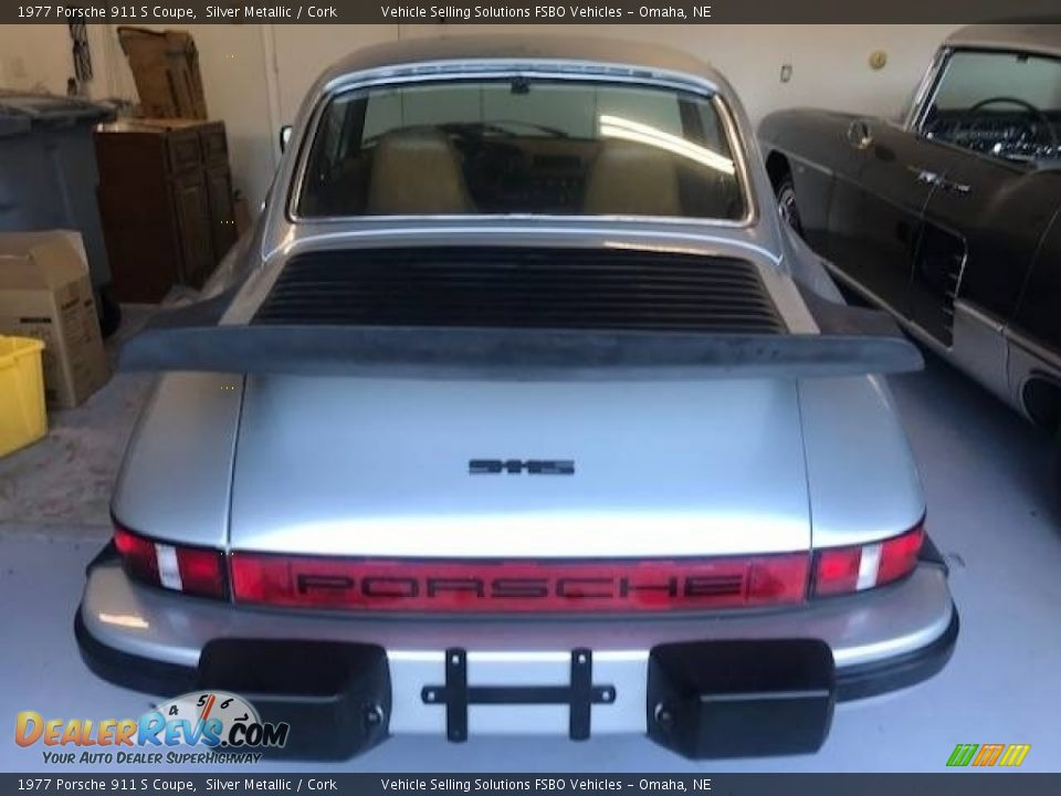 1977 Porsche 911 S Coupe Silver Metallic / Cork Photo #8