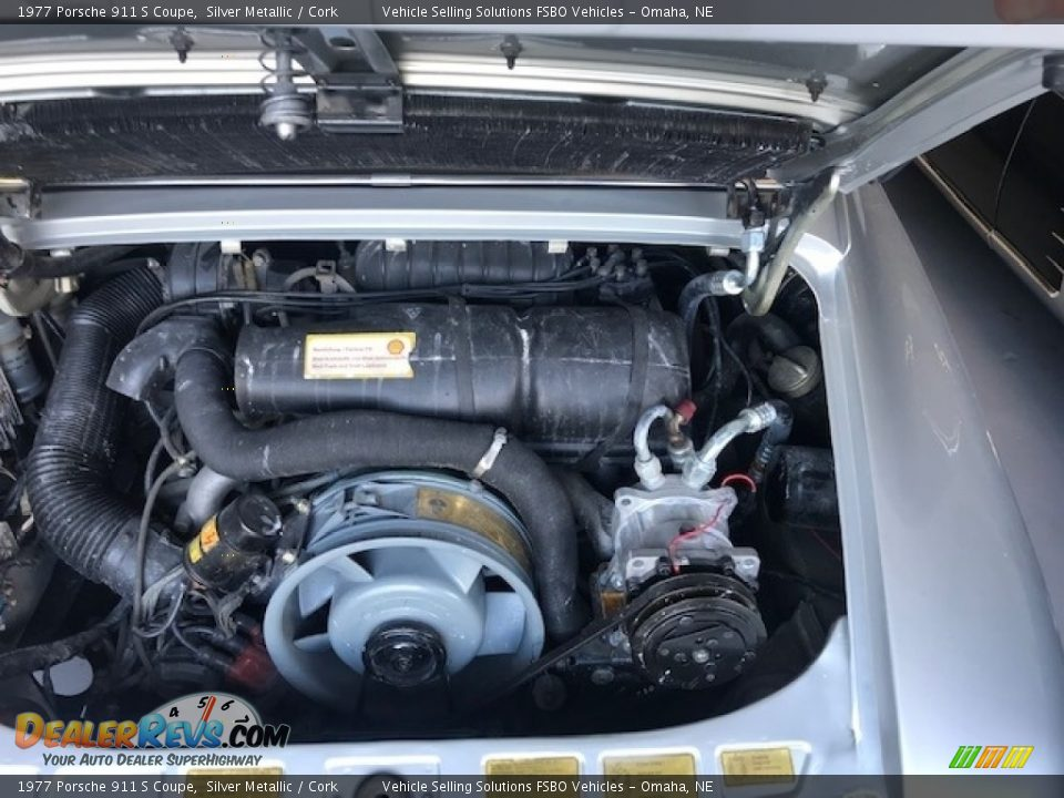 1977 Porsche 911 S Coupe 2.7 Liter SOHC 12V Flat 6 Cylinder Engine Photo #9