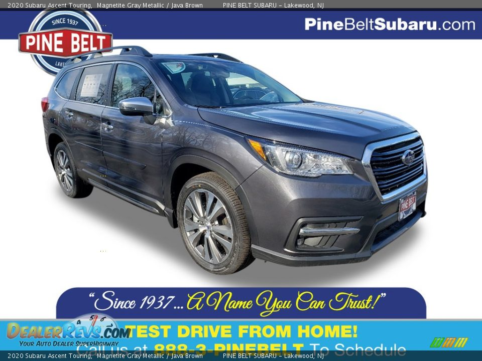 2020 Subaru Ascent Touring Magnetite Gray Metallic / Java Brown Photo #1