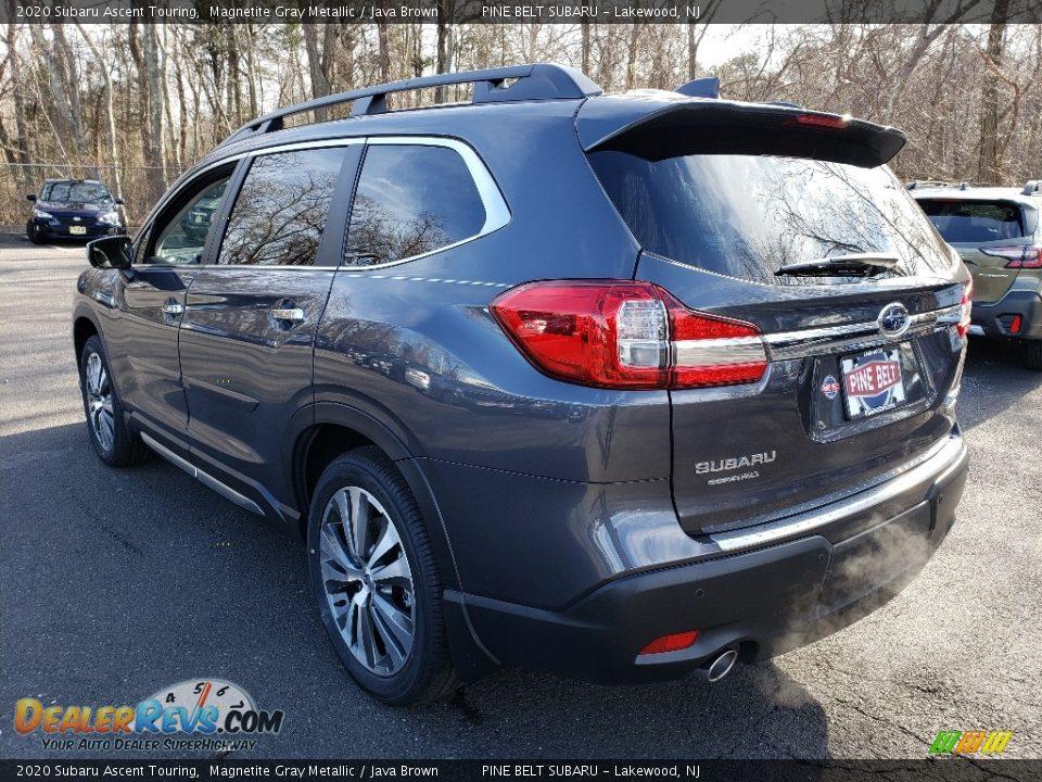 2020 Subaru Ascent Touring Magnetite Gray Metallic / Java Brown Photo #6