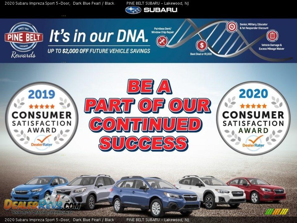 Dealer Info of 2020 Subaru Impreza Sport 5-Door Photo #11