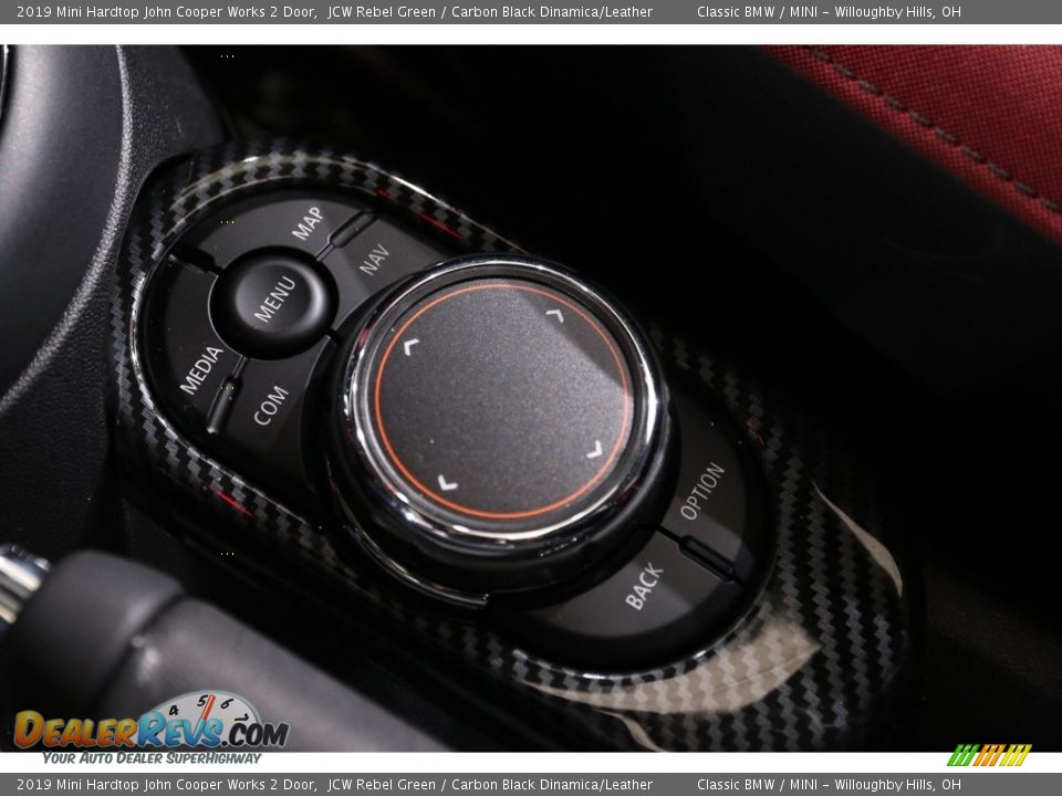 2019 Mini Hardtop John Cooper Works 2 Door JCW Rebel Green / Carbon Black Dinamica/Leather Photo #27