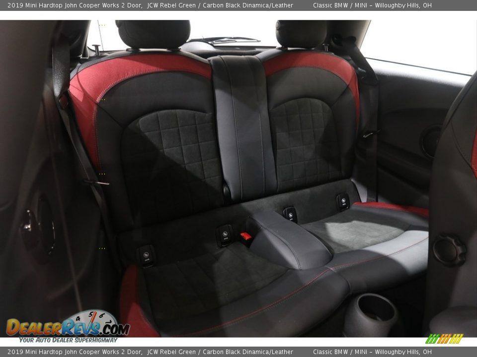 Rear Seat of 2019 Mini Hardtop John Cooper Works 2 Door Photo #29