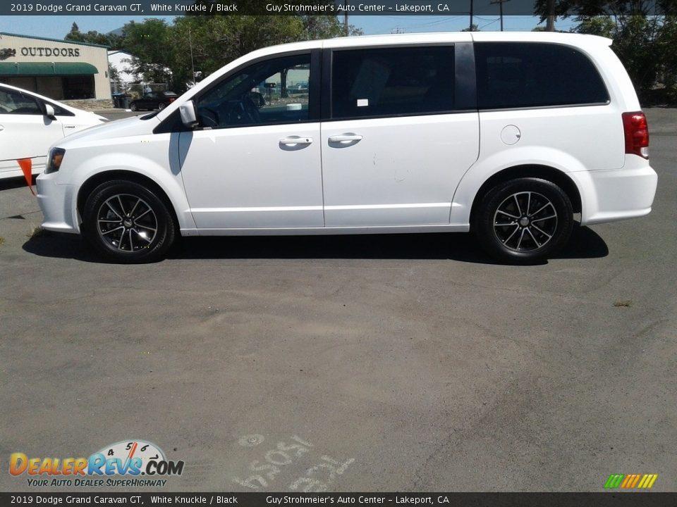 2019 Dodge Grand Caravan GT White Knuckle / Black Photo #18