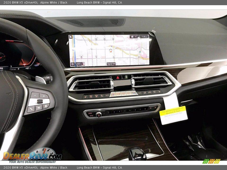 2020 BMW X5 xDrive40i Alpine White / Black Photo #5