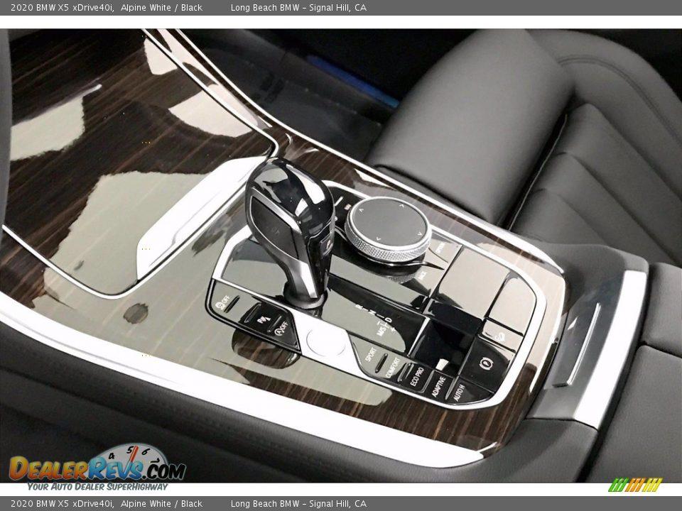 2020 BMW X5 xDrive40i Alpine White / Black Photo #6