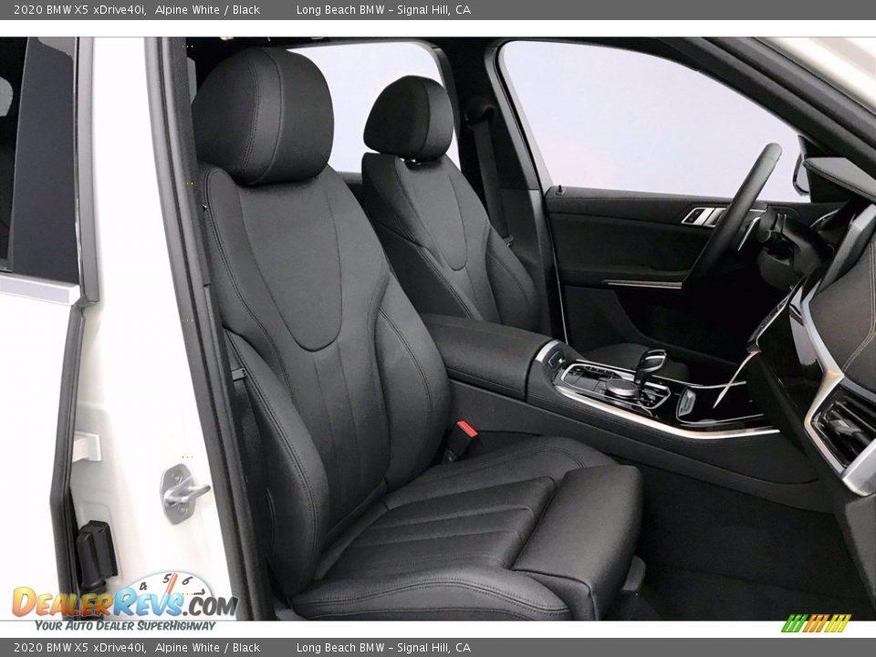 2020 BMW X5 xDrive40i Alpine White / Black Photo #7