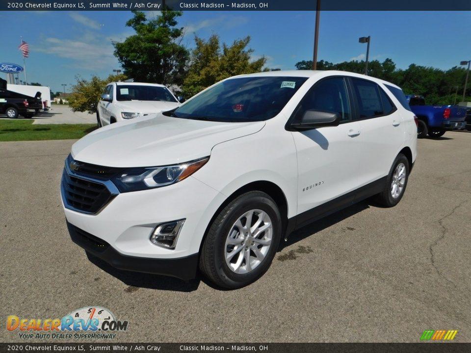 2020 Chevrolet Equinox LS Summit White / Ash Gray Photo #5