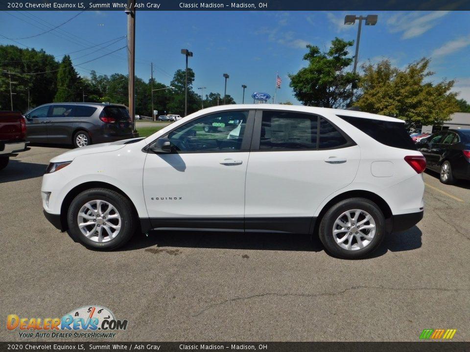 2020 Chevrolet Equinox LS Summit White / Ash Gray Photo #6