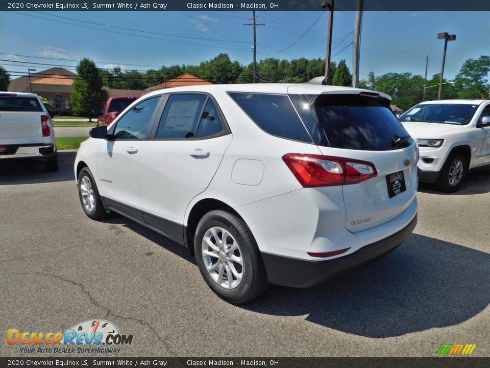 2020 Chevrolet Equinox LS Summit White / Ash Gray Photo #7