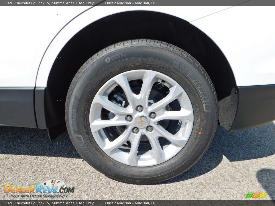 2020 Chevrolet Equinox LS Summit White / Ash Gray Photo #9