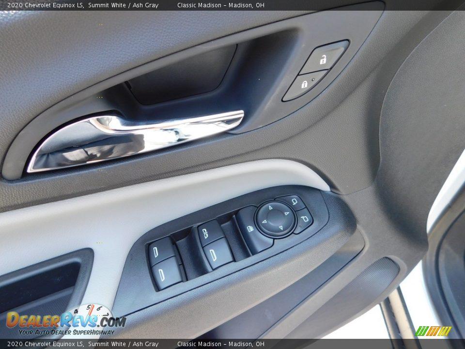 2020 Chevrolet Equinox LS Summit White / Ash Gray Photo #11
