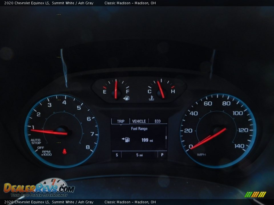 2020 Chevrolet Equinox LS Summit White / Ash Gray Photo #14